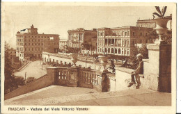 Frascati (Roma, Lazio) Veduta Dal Viale Vittorio Veneto, View From The Vittorio Veneto Avenue - Altre Città