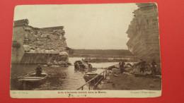 Auto Allemande Tombée Dans La Marne, Animée, Guerre 14-18,  (d'après L'Illustration) - Guerra 1914-18