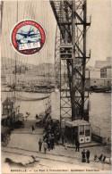 MARSEILLE (13) Le Pont Transbordeur - Ascenseur électrique - Rare - Gros Plan - Très Bon état - Vignette - Carte Postée - Alter Hafen (Vieux Port), Saint-Victor, Le Panier