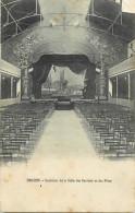 -ref- L885- Saone Et Loire - Digoin - Interieur De La Salle Des Societes Et Des Fetes - Theatre - Theatres - - Digoin