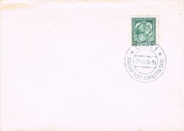 19119. Carta TABOR (Checolovaquia) 1935. Krajky Slet Sokolstva - Checoslovaquia