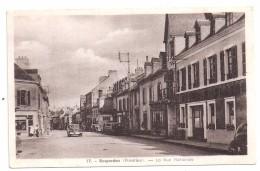 CPSM Rosporden Finistère 29 Rue Nationale Vieux Tacots édit J Nozais N°17 Non écrite - France