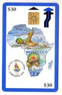 ZIMBABWE REF MV CARDS ZIM-04 30$ BLUE BORDER - Zimbabwe