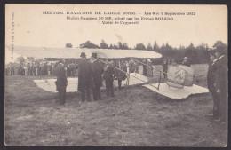 LAIGLE Meeting D´aviation De 1912. Biplan Caudron Piloté Par Les Frères Bosano - L'Aigle