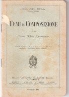 Fascicolo -- Classe Quinta Elementare - I° Vallardi 1912 - Enfants