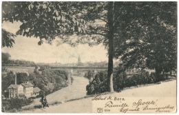 CPA Schweiz/Suisse: Bern, 1914, 2 Scans - BE Berne