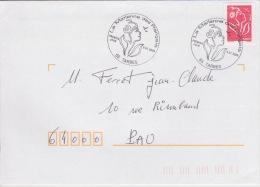 TARBES (65) - 08/01/2005 - OT Premier Jour Marianne Des Français - Postmark Collection (Covers)