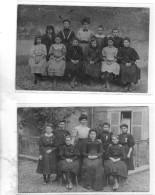 Meaux 6 Cartes Photo L Institution Jeanne D Arc 1910 Photos Bruyant 37 Bd Jean Rose Meaux - Meaux