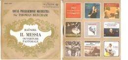 "Royal Philharmonic Orchestra - Sir Thomas Beecham - Händel Il Messia  Ouverture Pastorale NM/NM 7"" - Classica"