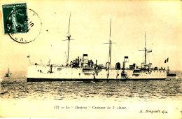 AC 128 /    C P A  -   LE DESTRES CROIQSEUR DE 3° CLASSE - Warships