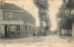 VALENTON - La Poste Et Route De Villeneuve. - Poste & Postini