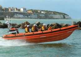 Postcard - Ramsgate Lifeboat, Kent. RAMLB02A - Ships