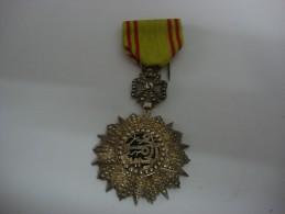 Médaille Ordre Royal Du Régiment Du Roi Du Laos - Médailles & Décorations