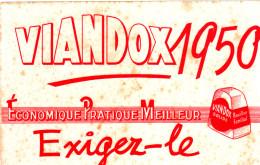 BUVARD VIANDOX 1950 21X13.5 EN ETAT VOIR SCAN - Soups & Sauces