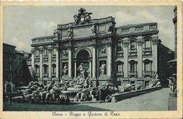 Roma - Piazza E Fontana Di Trevi - Ed. Enrico Verdesi - Carte E.V.R. - Fontana Di Trevi
