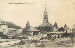 -ref- L841- Haute Marne - Avrecourt - Eglise Et Cure -  Carte Bon Etat - - France