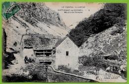 """En L'état Rare CPA 15 """"Le Cantal Illustré"""" Saint ST-ETIENNE-de-CHOMEIL - Moulin De Compier ° Edition Journiac - France"""