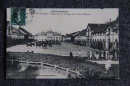 LAMBALLE - Le Haras, Présentation Des Attelages Dans La Cour D'honneur. - Lamballe