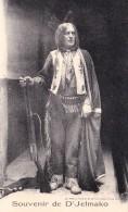 CPA Indien Indian Peau-Rouge Souvenir De D' JELMAKO - Native Americans