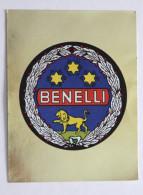 Vignette Sticker Ancien PANIN Moto BENELLI Années 80 - Edizione Italiana
