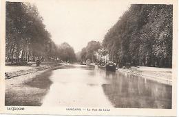 CPA - 18 - SANCOINS - Le Port Du Canal  5 - BERRY  CHER - Sancoins