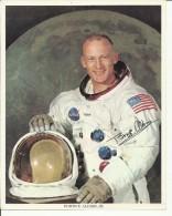 EDWIN E. ALDRIN, Jr.  --  ASTRONAUT, SPACE FLIGHT TO MOON, APOLLO 11  --       PHOTO   25,5 Cm X 20,5 Cm - Aviation