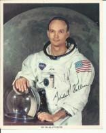 MICHAEL COLLINS  --  ASTRONAUT, SPACE FLIGHT TO MOON, APOLLO 11  --       PHOTO   25,5 Cm X 20,5 Cm - Aviation