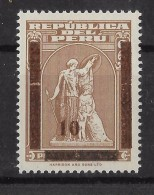 Peru  Stamps 3 Values Unemployment Overprined 10 - Peru