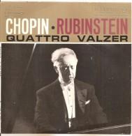 """Chopin Rubinstein Quattro Valzer NM/NM 7"""" - Classica"""