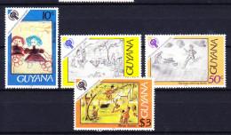 GUYANE BRITANNIQUE 1979 YT N° 546 à 549 ** - Guyana (1966-...)