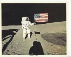ALAN B. SHEPARD Jr.  -  APOLLO 14 EVA--  ASTRONAUT, SPACE FLIGHT TO MOON, APOLLO 14  --    PHOTO   25,5 Cm X 20,5 Cm - Aviation