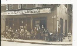 Lyon  Carte Photo    Café Jasselin -Restaurant  Rue Du Professeur Weil - Autres