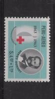 Peru 1964 International Red Cross, Henry  Dunant Founder, Emblem, Medicine 2 Values Complete Set - Peru