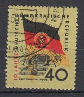 DDR -  Michel - 1959 - Nr 727 - Gest/Obl/Us - Gebruikt