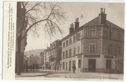 REMIREMONT - Rue Des Capucins Et PHARMACIE Du BON REMEDE      Fd61 - Remiremont