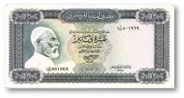 LIBYA - 10 Dinars - (1972 ) With Inscription - P 37.b - Sign. 1 - Serie I A/67 ( 192 X 95 ) Mm - 2 Scans - Libye
