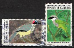 CAMERUN - 1991 - UCCELLI - BIRDS - USATO - Kamerun (1960-...)
