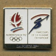 F# - PIN´S:  JO ALBERTVILLE - LA POSTE - Olympic Games
