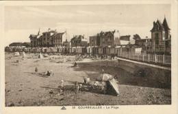 COURSEULLES   LA  PLAGE          (NUOVA) - Courseulles-sur-Mer