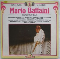 317/16  DISCO LP 33 GIRI MARIO BATTAINI BALLABILI CELEBRI FISARMONICA VOL.2° 14 SUCCESSI - Classical
