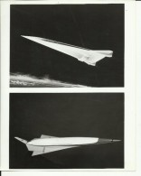 SPACE PLANE  ---   ASTRONAUT, SPACE FLIGHT TO MOON  --  PHOTO   25,4 Cm X 20,2 Cm - Aviation