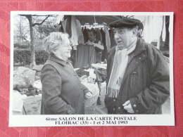 Dep 33 , Cpm  6ème Salon De La Carte Postale , FLOIRAC , 1 Et 2 Mai 1993  (04.949) - Autres Communes