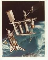 ASTRONAUT, SPACE FLIGHT TO MOON  --  PHOTO   25,4 Cm X 20,5 Cm - Aviation