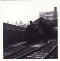 Railway Photo LMS Stanier 2P 41900 Tewkesbury Shed 1959 0-4-4T Loco - Trenes