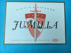 1644 - Vin Fin D'Espagne Jumilla - Etiquettes