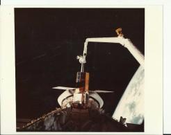 CAPTURED  --    ASTRONAUT, SPACE FLIGHT TO MOON  --  PHOTO   25,4 Cm X 20,5 Cm  --  2 X SCAN - Aviation