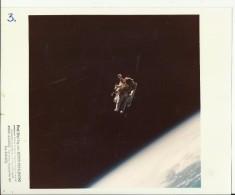 ROBERT STEWART  --  ASTRONAUT, SPACE FLIGHT TO MOON  --  PHOTO   25,4 Cm X 20,2 Cm  --  2 X SCAN - Aviation