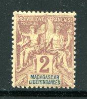 MADAGASCAR- Y&T N°29- Neuf Avec Charnière * - Ungebraucht