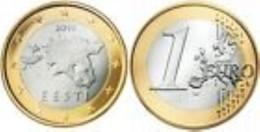 Estonia 2016      1 Euro   UNC Uit De BU  UNC Du Coffret  EXTREME RARE   !! - Estonia