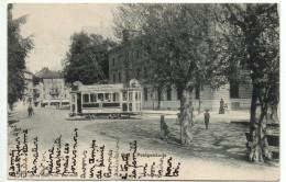 BIEL Postgebäude, Städtische Strassenbahn, Tram - BE Bern